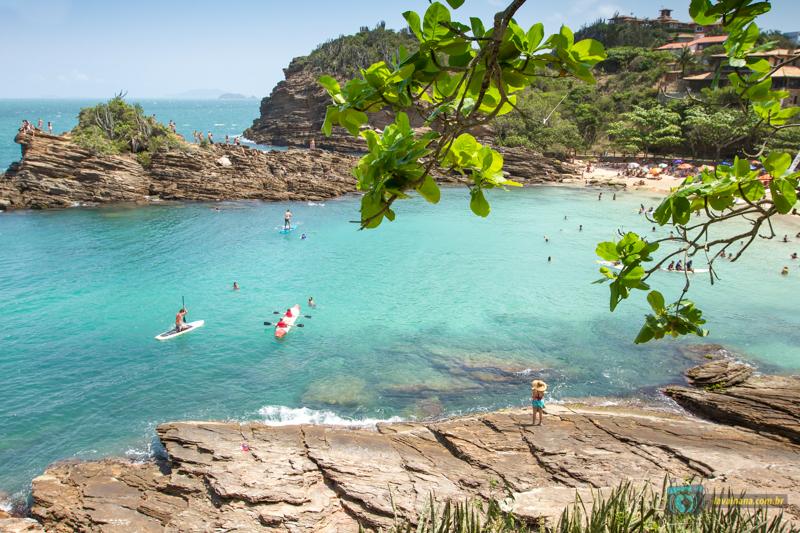 O que Fazer em Búzios Rio de Janeiro Praia Ferradurinha