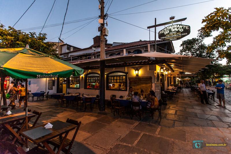 O que Fazer em Búzios Rio de Janeiro Restaurante David