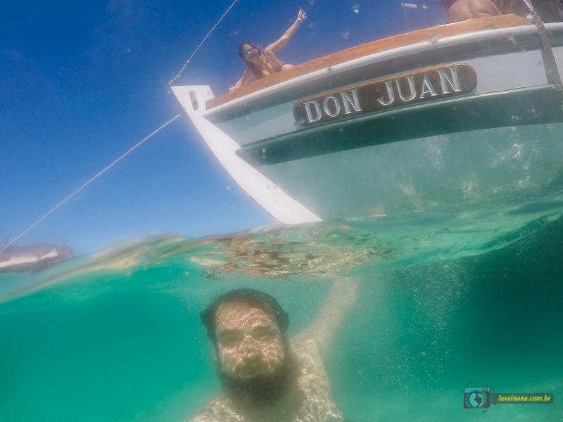 Passeio de barco em Arraial do Cabo - RJ