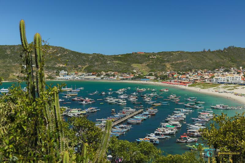 Passeio de barco em Arraial do Cabo - RJ - Praia dos Anjos