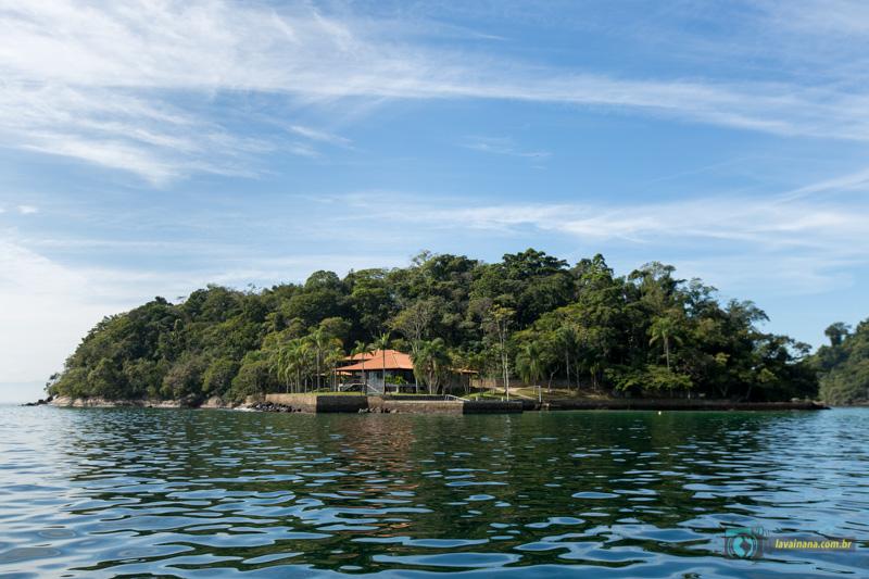 Passeio de lancha em Paraty - Ilha da Pescaria