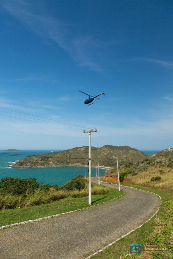 Passeio de helicóptero em Búzios