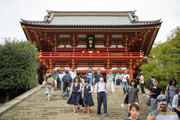Kamakura, TEMPLO TISIRUGAOKA HASHMAN