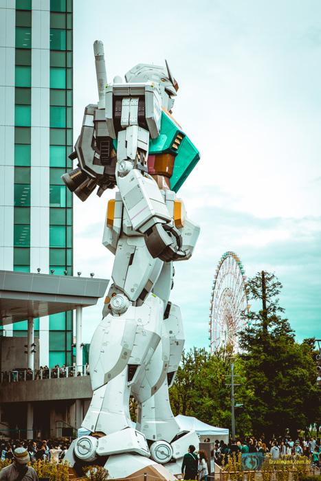 Odaiba Tóquio Gundan Gigante