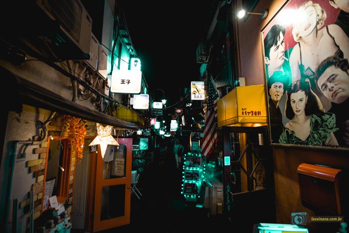 Shinjuku - Tóquio - Golden Gai - Japão