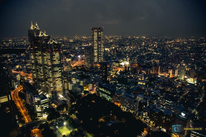 Tóquio vista de cima - Metropolitan Government Building