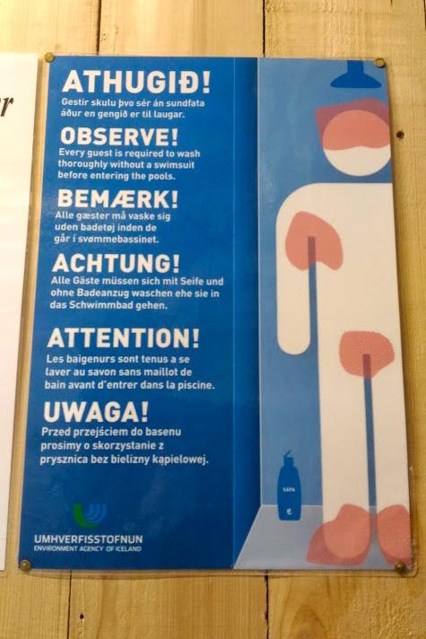 Dicas Islândia - Roupa de Banho
