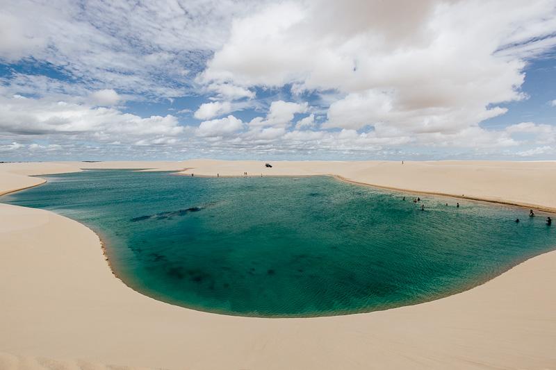 passeio nos Lençóis Maranhenses - Maranhão-Barreirinhas
