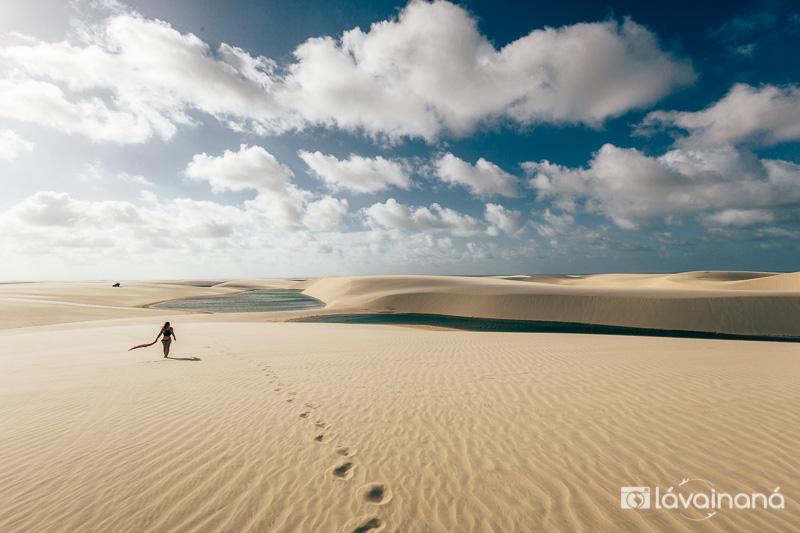 Passeio para Atins -passeio nos Lençóis Maranhenses - Barreirinhas - Maranhão