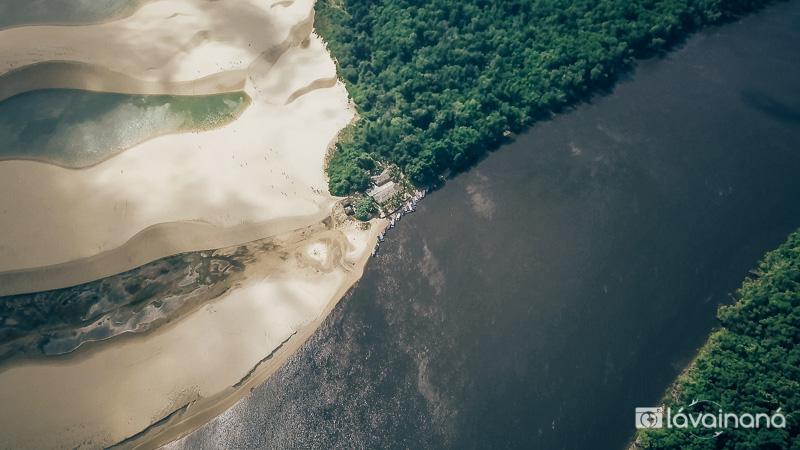 Lençóis Maranhenses - Caburé - Passeio Rio Preguiças - Barreirinhas