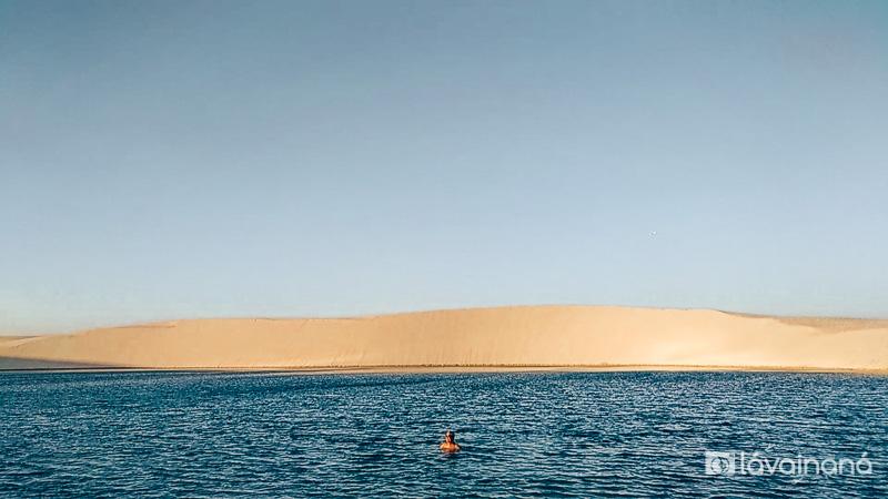 Lençóis Maranhenses, Passeio para a Lagoa Azul, Barreirinhas