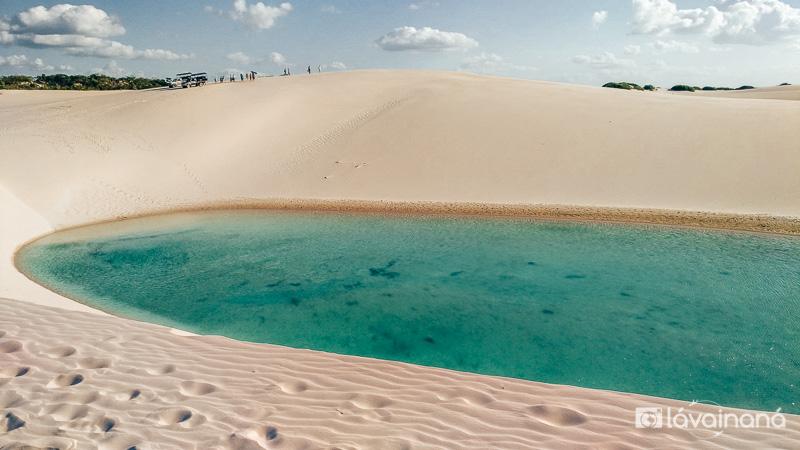 Lençóis Maranhenses, Passeio para a Lagoa Azul, Barreirinhas, Maranhão
