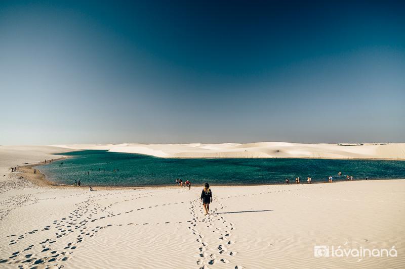 Passeio nos Lençóis Maranhenses - Passeio para Lagoa Bonita - Barreirinhas